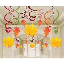 Mega Value Pack Fall Leaf Danglers Make a spiral & attach a watercolor leaf! Mega Value Pack Fall Le Fall Classroom Decorations, Classroom Crafts, School Decorations, Thanksgiving Decorations, Preschool Crafts, Autumn Crafts, Autumn Art, Autumn Leaves, Autumn Decorating