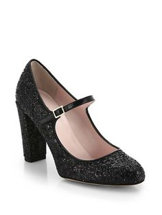Kate Spade New York Angelique Glitter Mary-Jane Pumps. Shop it and 19 other chic Mary Jane shoes.