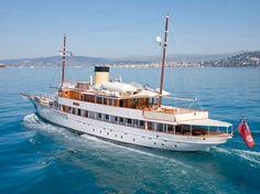 M/S EDEN Classic Motor Yacht Refit Monaco