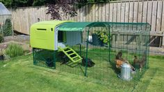 Omlet egglu cube chicken coop