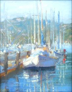 Sausalito Boat by Kathleen Robison