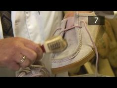 Have you ever wanted to get good at shoe care, vj hide feed content. Well look no further than this informative video on How To Remove Dirt From Suede Shoes. Follow Videojug's professional experts as they help you through this informative video.