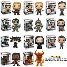 "Mskv Awsome News: A brand-new look at the merchandise for ""Thor: Rag..."