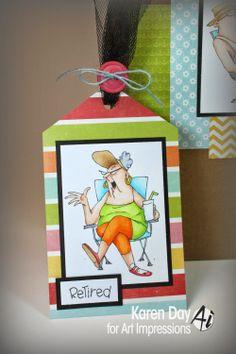 Karen Day for Art Impressions - His & Hers Camper Set