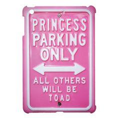 Princess parking iPad mini covers