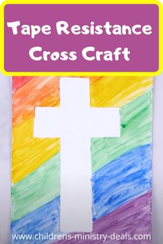 Sunday School Craft For Kids - Old Has Gone New Has Come