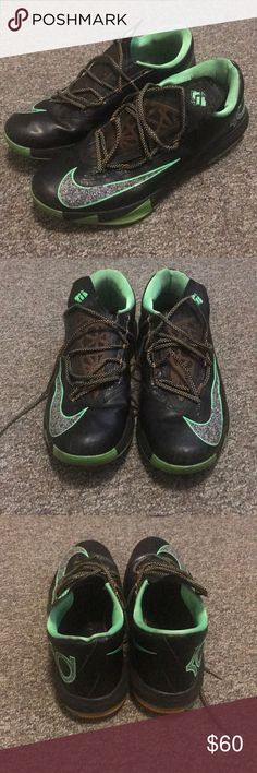 "8a63f9e6b8c Nike KD VI ""Night Vision"" Barely ever worn. In great shape with a lot of  life left Nike Shoes Athletic Shoes"