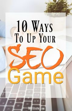 These SEO tips will help you improve your blog's Google ranking and thus, your traffic. An SEO strategy is an important part of blogging, so don't overlook this! #SEO #Blogging #BloggingTips