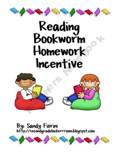 Homework Bookworm Reading Incentive - Love this idea of celebrating as a class and working together!