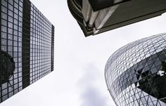 Low angle view of modern buildings One of the world's most frequented cities London provides something for everyone: from history…