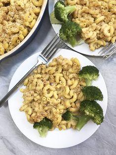The Easiest Vegan Mac N Cheese - Nut free & low in fat!
