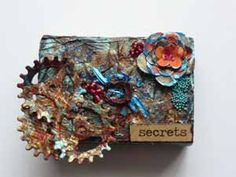 1 post published by during April 2016 Altered Art, Art Projects, Mixed Media, Mixed Media Art, Art Designs