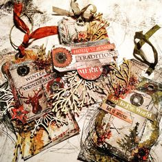 Virag Reti Christmas Cards for Mixed Media world Cursed Child Book, My Scrapbook, Scrapbooks, Diy And Crafts, Christmas Cards, Mixed Media, Harry Potter, Tags, Cover