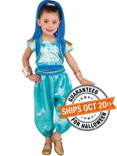 Toddler's Shimmer and Shine Deluxe Shine Costume