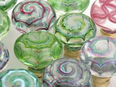 Glass cupboard knobs Artisan. Available in different colours and sizes from Priors. http://www.priorsrec.co.uk/bespoke-glass-cupboard-knobs-/p-3-15-46-512