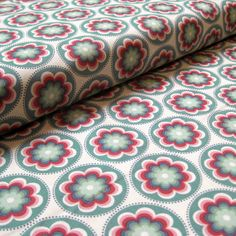 Salt Air coral bloom cotton fabric 1 yard by Fabricsonmillst, $8.99
