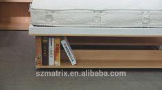 Proveedor de china de la pared plegable cama, plegable de madera de la pared de la cama con escritorio