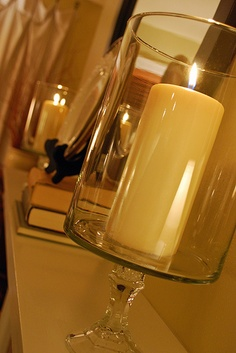 Ingenious idea on how to make these candle holders candle holders, candl stand, candl holder, larg candl
