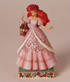 Amazon.com: Disney Traditions by Jim Shore Ariel Summer Figurine, 7-1/4-Inch: Home & Kitchen