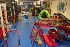 We Rock The Spectrum Kid's Gym provides a nurturing, and fun environment to foster learning, exploration and sensory-safe experiences for ALL kids. Kids Gym Equipment, Sensory Equipment, Kids Indoor Gym, Backyard For Kids, Awesome Bedrooms, Cool Rooms, Toddler Activity Board, Sensory Rooms, Play Gym
