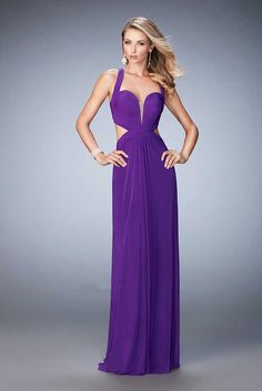 5c2e50e24a107 La Femme 2017 Long Open Back Prom Dresses in Purple 22224 Online