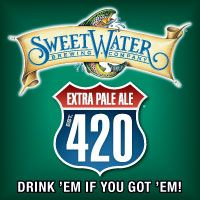 SweetWater Brewery 420 Extra Pale ale