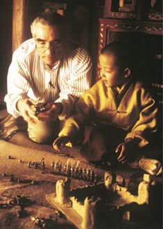 """On the Set of Kundun (1997) 