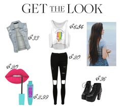 """""""Stressed Out (I-/)"""" by love-u-goodbye ❤ liked on Polyvore featuring Lime Crime"""