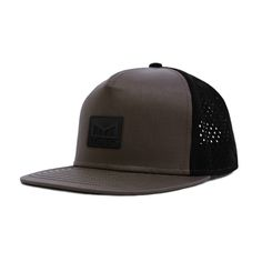 From desert sand to mountain snow and everywhere in between. The Watermelin Nomad Snapback Hat is designed to be used and worn. Leather Hats, Snapback Hats, Taupe, Baseball Hats, Swag, Luxury, Create, Search, Style