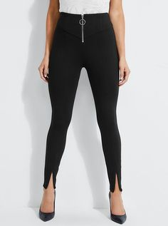 Kumiko Zip-Front Pants at Guess Online Purchase, Sexy Dresses, Black Jeans, Zip, Lifestyle, Denim, Pants, Fashion Trends, Clothes