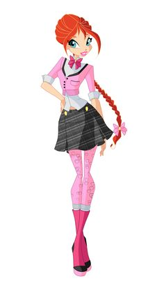 Bloom 6 season official outfit by Bloom2 on deviantART