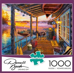 Natural Tranquility 1000 pc Jigsaw Puzzle by SunsOut