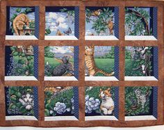 Embroidery Designs Attic Windows