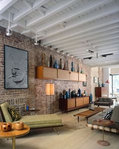 New York Rowhouse | Mid Century Modern