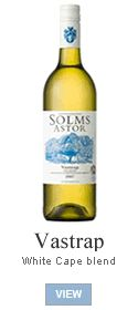 For this easy-drinking Cape white blend, the winemaker selected traditional South African grape varieties – Chenin blanc, Semillon and Riesling – to make a wine with a level of complexity that contradicts its price tag. As lively as the folk music after which it is named, Vastrap is a well-balanced white blend for all occasions. It has a people-friendly 13% alcohol and food-friendly fullness in the mouth.
