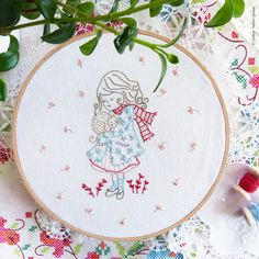 Embroidery kit hand embroidery flying fairy fairy nursery christmas embroidery christmas wall art by tamarnahiryanai on etsy solutioingenieria Image collections