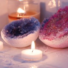 Geode Bath Bombs //