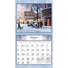 American Dream  Wall Calendar  Decoupage    Decoupage