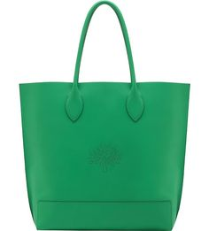 MULBERRY Blossom nappa-leather tote (Jungle green