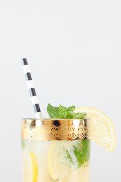Champagne Smash Cocktail