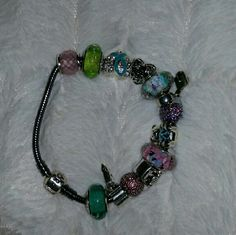 Pandora Bracelet Oxidated bracelet.. 13 charms Pandora Jewelry Bracelets