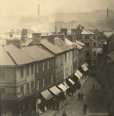 An Old Photo of Lancaster Town Centre Lancashire England