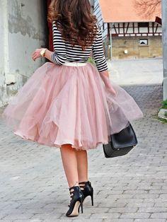 Fashion Fix: Rok van tule - My Simply Special