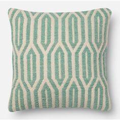Light Aqua Throw Pillow | Wayfair