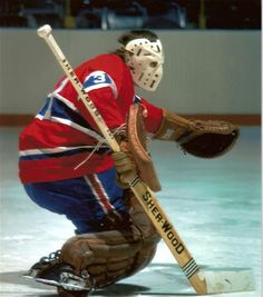 """Michel """"Bunny"""" Larocque won four straight Stanley Cups with the Montreal Canadiens from 1976 to 1979 Ice Hockey Teams, Hockey Goalie, Hockey Games, Hockey Players, Hockey Stuff, Montreal Canadiens, Mtl Canadiens, Ken Dryden, Nhl Highlights"""