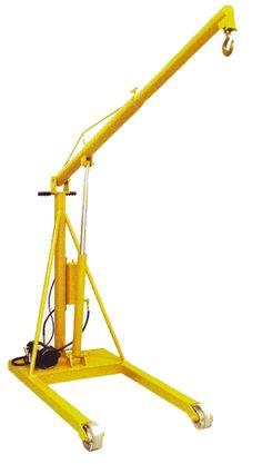 Econo-Master Mobile Hydraulic Floor Cranes - http://www.buymanlifts.com/econo-master-mobile-hydraulic-floor-cranes/