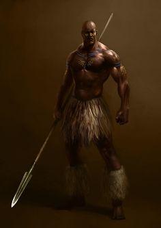 Risultati immagini per african fantasy artwork