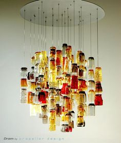 vintage glass lamp ideas