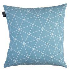 Sierkussen KAAT Matira Bluegreen - NIEUWE COLLECTIE   Cushion KAAT   http://www.livengo.nl/beddengoed/sierkussens   #kussens #blauwgroen #interieur #livengo