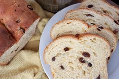 Thyme In Our Kitchen: Finnish Easter Bread (bread flour, yeast, 2 tablespoons sugar, 1/4 cup butter, eggs, lemon zest, orange zest, raisins, chopped almonds, 1/4 cup sugar, cream cheese, milk, vanilla, 2 cups powdered sugar)
